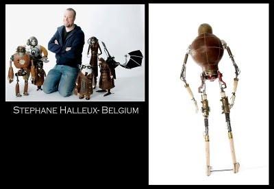 Stephane Halleux: романтика раритетных механизмов. Изображение № 1.