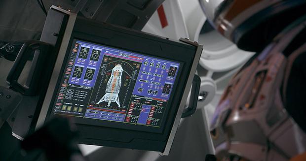 Студия рассказала обинтерфейсах в«Марсианине». Изображение № 4.