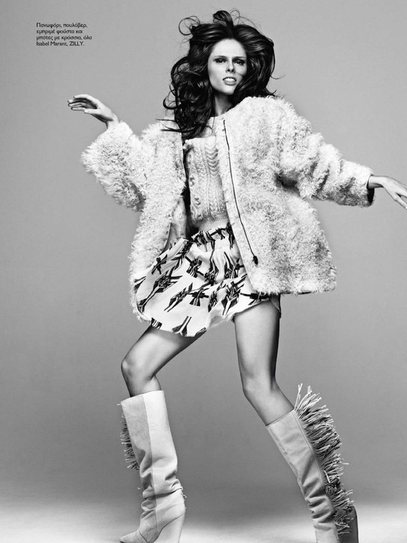Съёмка: Коко Роша для Madame Figaro. Изображение № 5.