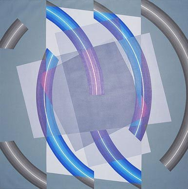 Оп-арт. Оптическое искусство. Изображение № 7.