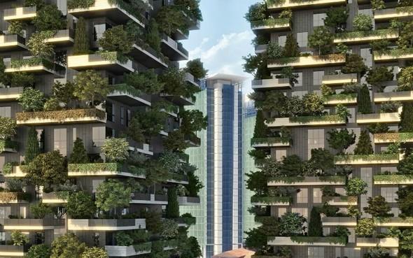 Озеленение Милана: новые методы. Изображение № 2.