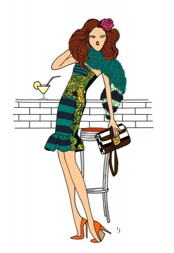 Angéline Melin Фешн-иллюстратор. Изображение № 19.