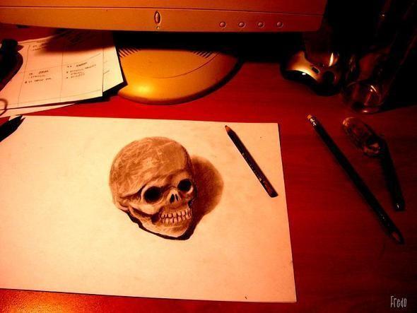 """Изображение 15. Реалистичные 3D рисунки """"в карандаше"""".. Изображение № 15."""