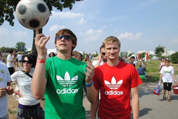 Партизаны Adidas Originals на Пикнике Афиши. Изображение № 34.