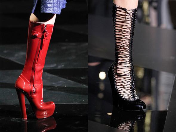 Обувь Louis Vuitton FW 2011. Фотографии: Style.com. Изображение № 5.