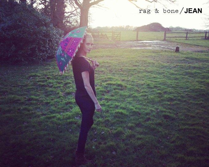 Камила Роу сняла Поппи Делевинь для Rag & Bone. Изображение № 22.