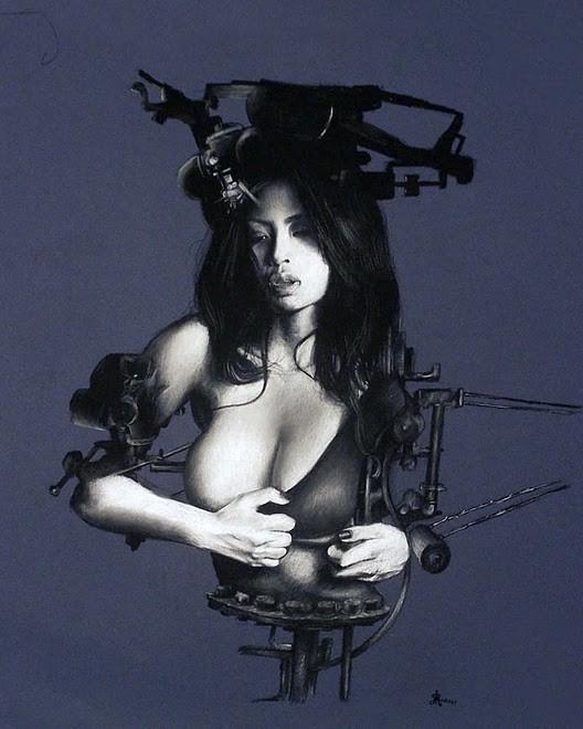 Женственный машинариум Джефри Ритчера. Изображение № 27.