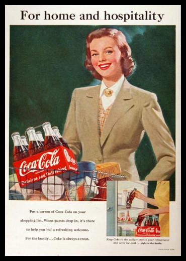 Изображение 43. Coca-cola – История бренда, история рекламы.. Изображение № 43.