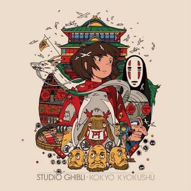 Mondo выпустит альбом с музыкой из аниме Студии Гибли. Изображение № 2.