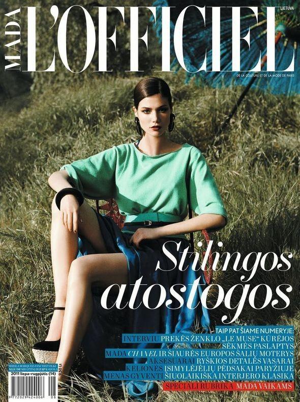 Изображение 1. Обложки: L'Officiel, Harper's Bazaar, Elle и другие.. Изображение № 1.