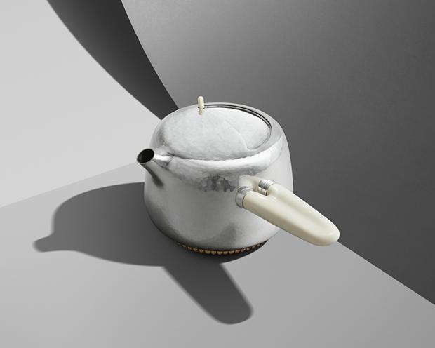 Дизайнер Марк Ньюсон создал серебряный чайный сервиз. Изображение № 4.