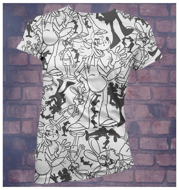 Изображение 17. Принтовые футболки.. Изображение № 17.