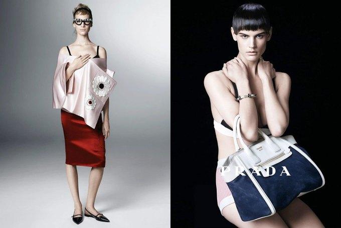 Max Mara, Prada и другие марки выпустили новые кампании. Изображение № 31.
