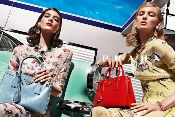 Кампания: Prada SS 2012. Изображение № 11.