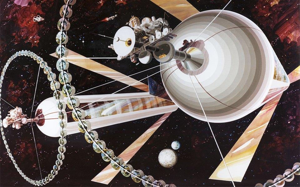 Рай не на земле: Какими в NASA представляли космические колонии будущего. Изображение № 7.
