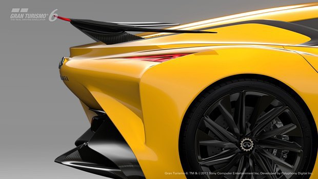Концепт: суперкар Infiniti для игры Gran Turismo. Изображение № 30.