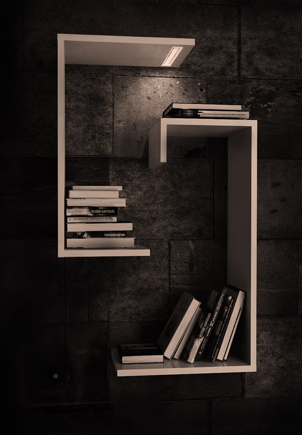 Книжные полки от Camistas. Изображение № 4.