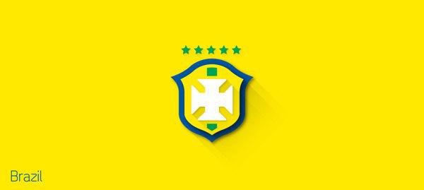 Представлены «плоские» версии гербов национальных сборных . Изображение № 2.