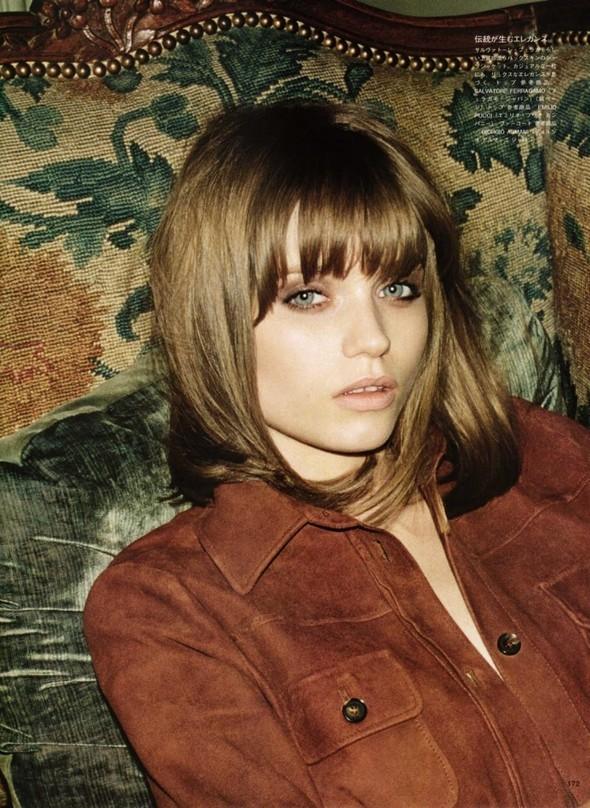 5 новых съемок: Elle, Harper's Bazaar, Numero и Vogue. Изображение № 34.