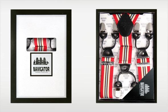 Коллекция подтяжек «Навигатор» от Sevaro Elit . Изображение № 1.