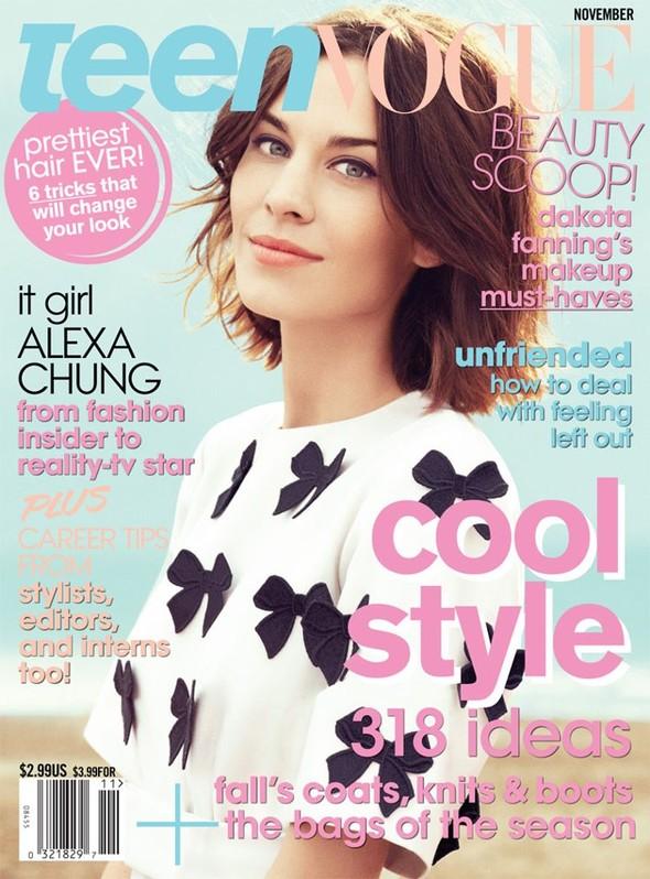 Съёмка: Алекса Чанг для Teen Vogue. Изображение № 1.