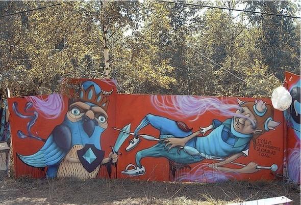 Стас Каневский: граффити во плоти. Изображение № 8.