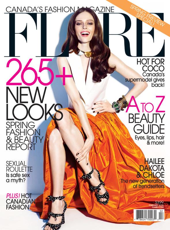 Обложки: Elle, Flare и Harper's Bazaar. Изображение № 2.