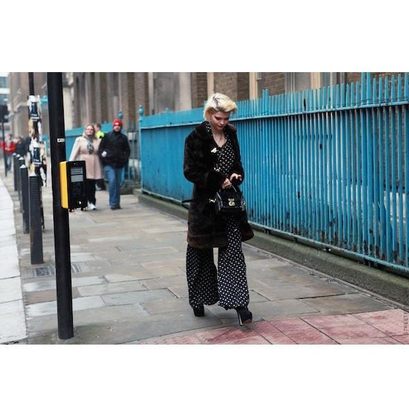 Изображение 160. На полях: 10 тенденций уличного стиля с прошедших недель моды.. Изображение № 160.