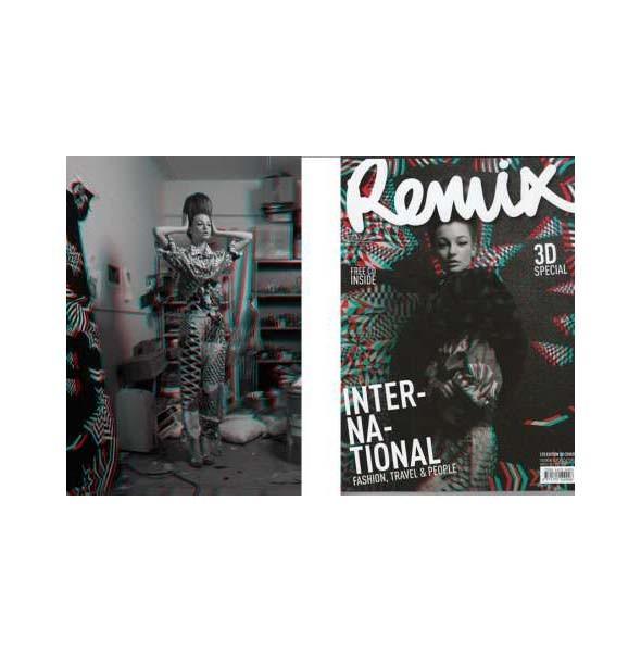 3D съемки журнала Remix Magazine. Изображение № 1.