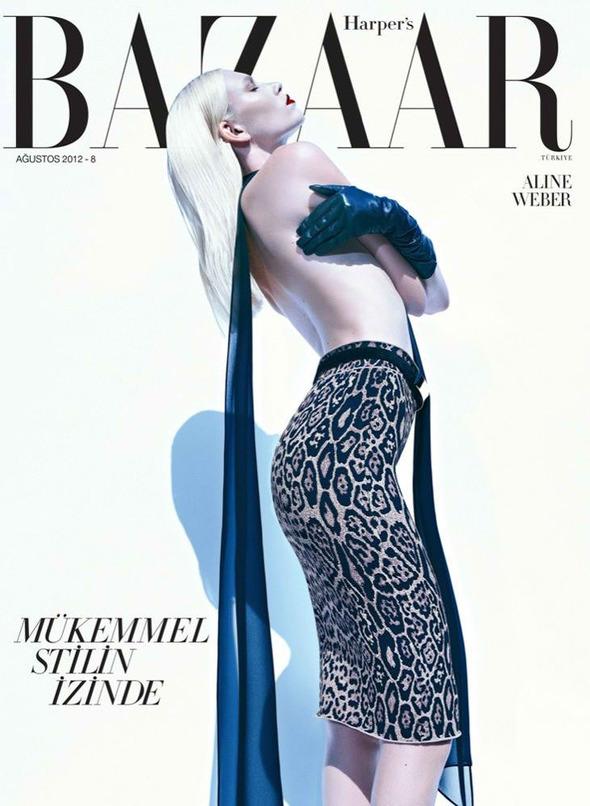 Обложки: Harper's Bazaar, Numero, Vogue и другие. Изображение № 5.