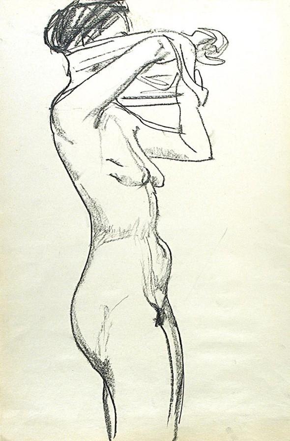 Леонид Сойфертис. рисунок, карикатура. Изображение № 19.