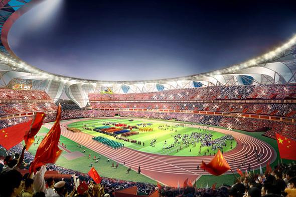 Новый спортивный парк в Ханчжоу. Изображение № 4.