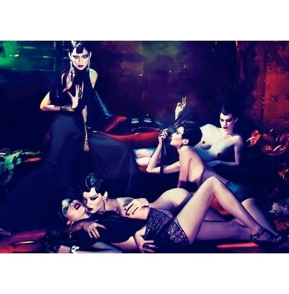 Изображение 11. Съемки: i-D, Interview, POP и Vogue.. Изображение № 11.