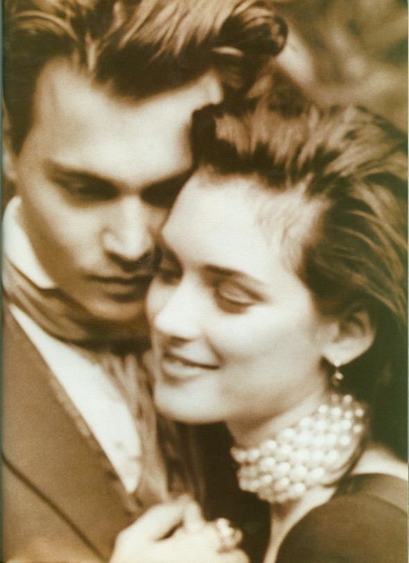 Johnny Depp and Winona Ryder for Vogue UK May'91. Изображение № 4.