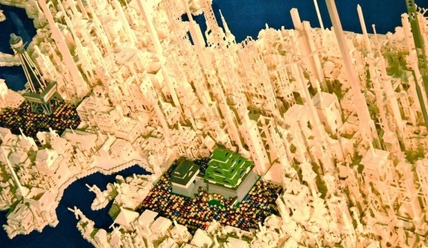 Трехмерная модель Японии из LEGO. Изображение №2.