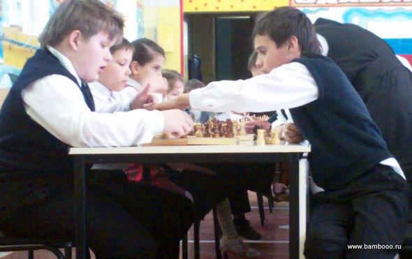 Шахматный турнир в школе-интернате №58. Изображение № 1.