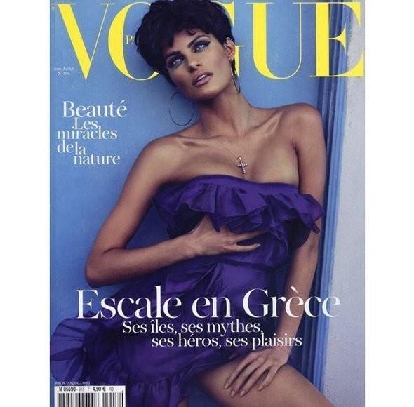 Изображение 4. Обложки Vogue: Британия, Франция и другие.. Изображение № 4.
