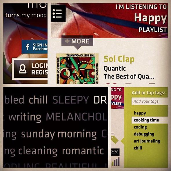 Stereomood выпустили своё музыкальное приложение для Android и iPhone. Изображение № 2.