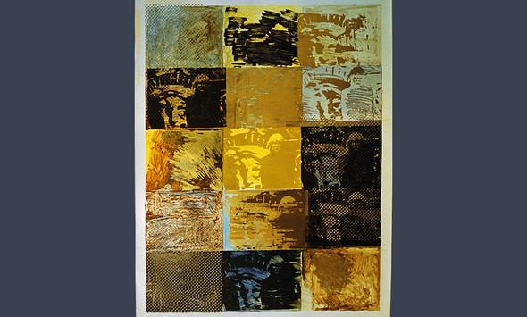 """Andry Worhol"", лист№2, 1994, бумага, смешанная техника. Изображение № 13."