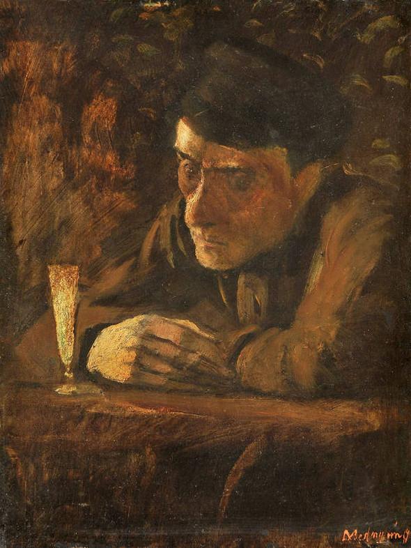 Лацио Меднянский, Любитель абсента. Изображение № 16.