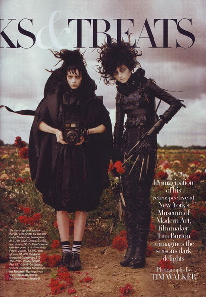 TimBurton's tric (Harper's Bazaar US). Изображение № 7.