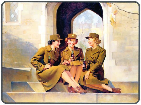 Рекламные плакаты coca-cola. Изображение № 12.