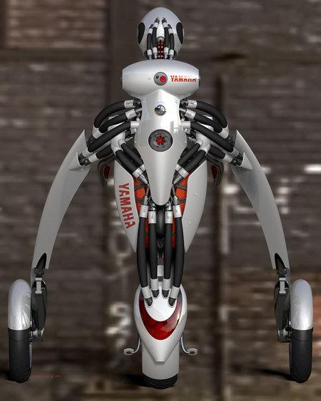 Yamaha сделала Segway настеройдах (Deus ExMachina). Изображение № 6.
