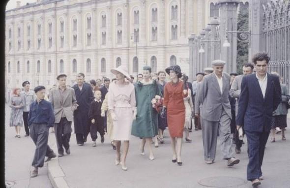 1959 г. Christian Dior в СССР. Изображение № 16.