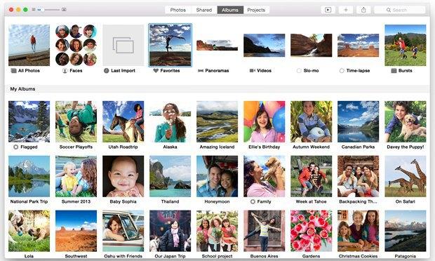 Появились первые скриншоты приложения-замены iPhoto для Maс. Изображение № 3.