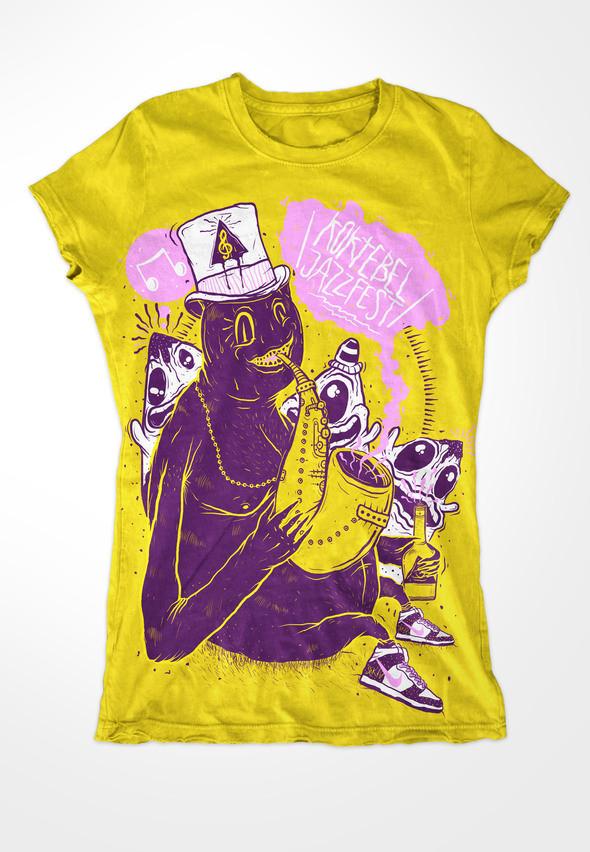 Изображение 9. Кастинг принтов для футболок SEKTA: Koktebel Jazz Fest.. Изображение № 10.