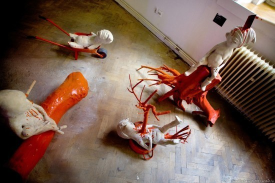 Музей современного искусства в Чехии: Искусство и шок. Изображение № 20.