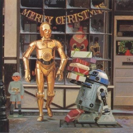 Счастливого рождества ида пребудет стобой сила!. Изображение № 2.