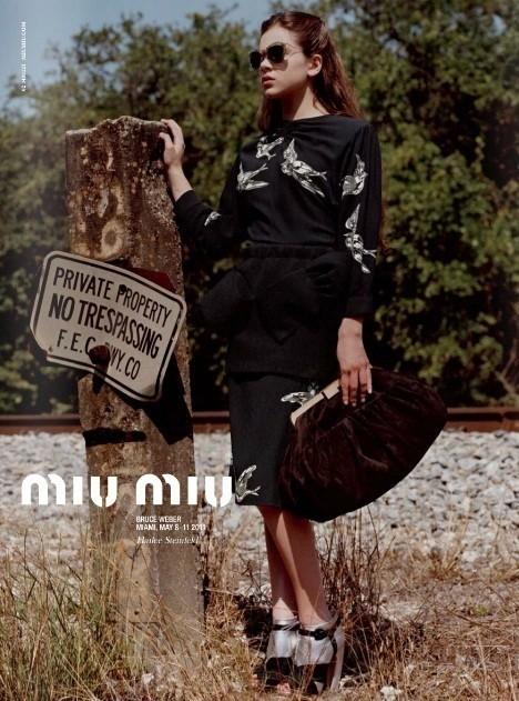 Изображение 1. Превью кампаний: Miu Miu, Janet & Janet и Stephen Webster.. Изображение № 1.