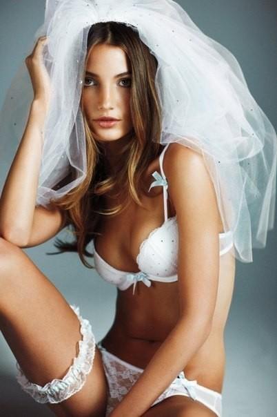 Свадебное белье от Victoria Secret. Изображение № 8.